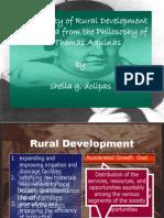 Morality of Rural Development