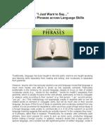 How to Teach Phrase