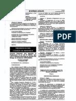Reglamento Ley 29664 SINAGERD