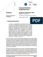 Comportamiento Organizacional - Guillermo Otalora Montenegro