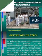 Etica y Deontología ppt