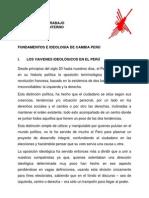 FUNDAMENTOS E                      _ IDEOLOGÍA   DE CAMBIA  PERÚ