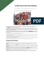 Propuesta de la FARV para el Gran Polo Patriótico Popular