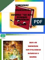 Concurso Institucional de CUENTO