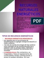 Recursos naturales energéticos