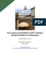 Rome Orientation Handbook 2013 FINAL