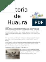 Historia de Huaura