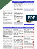 Reglamento Interno de Seguridad y Medio Ambiente g Box
