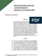 6_aspectos Practicos Del Silencio Administrativo_derecho_no 22