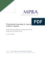 MPRA Paper 18186