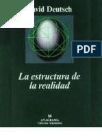 Deutsch David - La Estructura de La Realidad