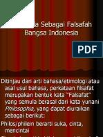 Pancasila Sebagai Falsafah Bangsa Indonesia