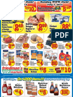 Friedman's Freshmarkets - Weekly Specials - July 5 - 10, 2013