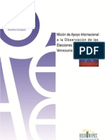 Informe Final POst Electoral Venezuela IAEE