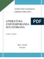 Literatura Contemporanea Ecuatoriana