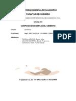 24863679 Composicion Quimica Del Cemento