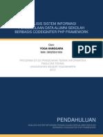 Analisis Sistem Informasi Pengelolaan Data Alumni Sekolah Berbasis Codeigniter Php Framework