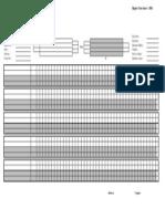 2012 - Blank Score Sheet