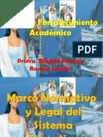 Presentación Marco Legal y Normativo