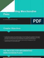 Implementing Merchandise Plans