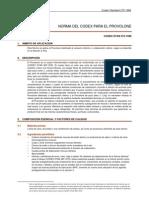 CXS_272s - Norma Para El Queso Provolone