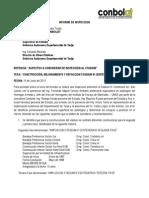 Informe de Inspeccion 13 y 14 Junio