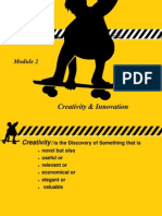 creativity and innovations