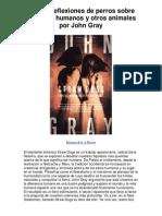 Paja de reflexiones de perros sobre los seres humanos y otros animales por John Gray - 5 estrellas reseña del libro (1)