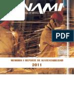 Memoria y Reporte de Sustentabilidad 2011 Libro Cerrado