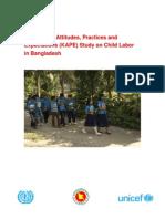 KAPE Study on Child Labor