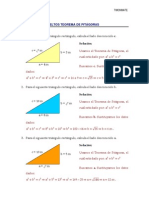 Problemas resueltos Teorema de Pitágoras