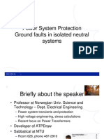 Ground Fault Protection Isolated Neutral