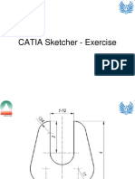 Catia Sketcher - Exercise