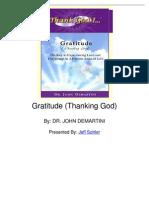 Gratitude (Thanking God)