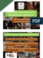 3.1 Principios de la Rehabilitación Deportiva