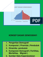 KONSEP DEMOGRAFI