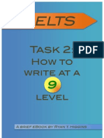 IELTS how to write at a 9 task two
