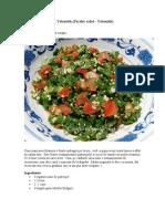 Salata Cu Patrunjel - Tabouleh