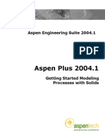 Aspen Plus 20041 Getting Started Solids