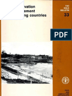 FAOSoil Conservation and Management in Developing Countries