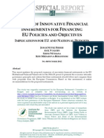 Innovative Financial Instruments