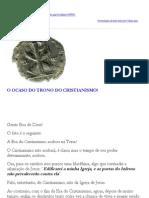 O Ocaso Do Trono Do Cristianismo - Caio Fabio