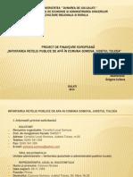 proiect de finantare europeana