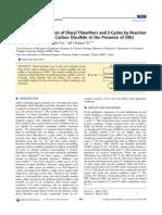 Thiophenol Synthesis
