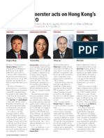 Hong Kong Business Journal - Deal Makers Column