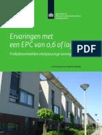 Ervaringen Met EPC Van 0 6 of Lager - Praktijkvoorbeelden Energiezuinige Woningbouw