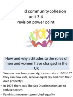 revision powerpoint on religion and community cohesion unit