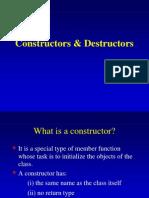 Constructor Destructor