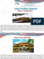 CENTRAL VIETNAM STOPOVER - 4 DAYS/ 3 NIGHTS