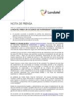 Huawei firma un acuerdo de distribución en España con Landatel